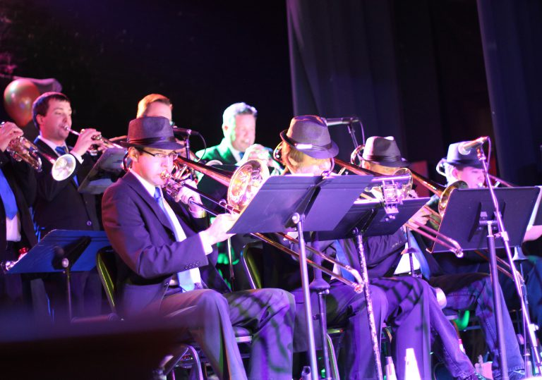 Horn section Denver Big Band - Flatirons Jazz Orchestra