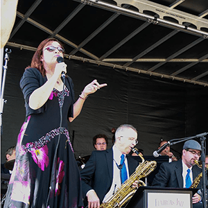 Denver Big Band Singer Deborah Stafford at the Keystone Wine & Jazz Festival